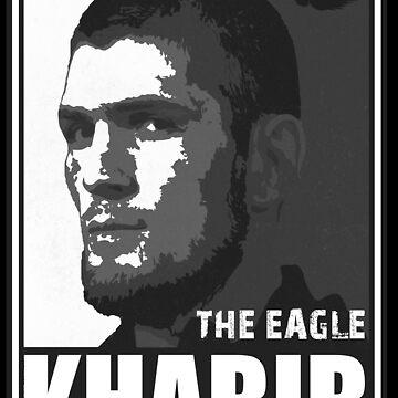 Der Adler Khabib Nurmagomedov von kurticide