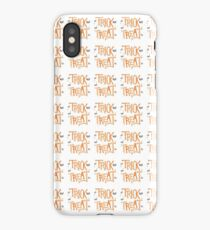 trick or treat holloween t-shirts iPhone Case/Skin