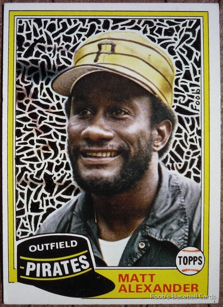 041 - Matt Alexander by Foob's Baseball Cards