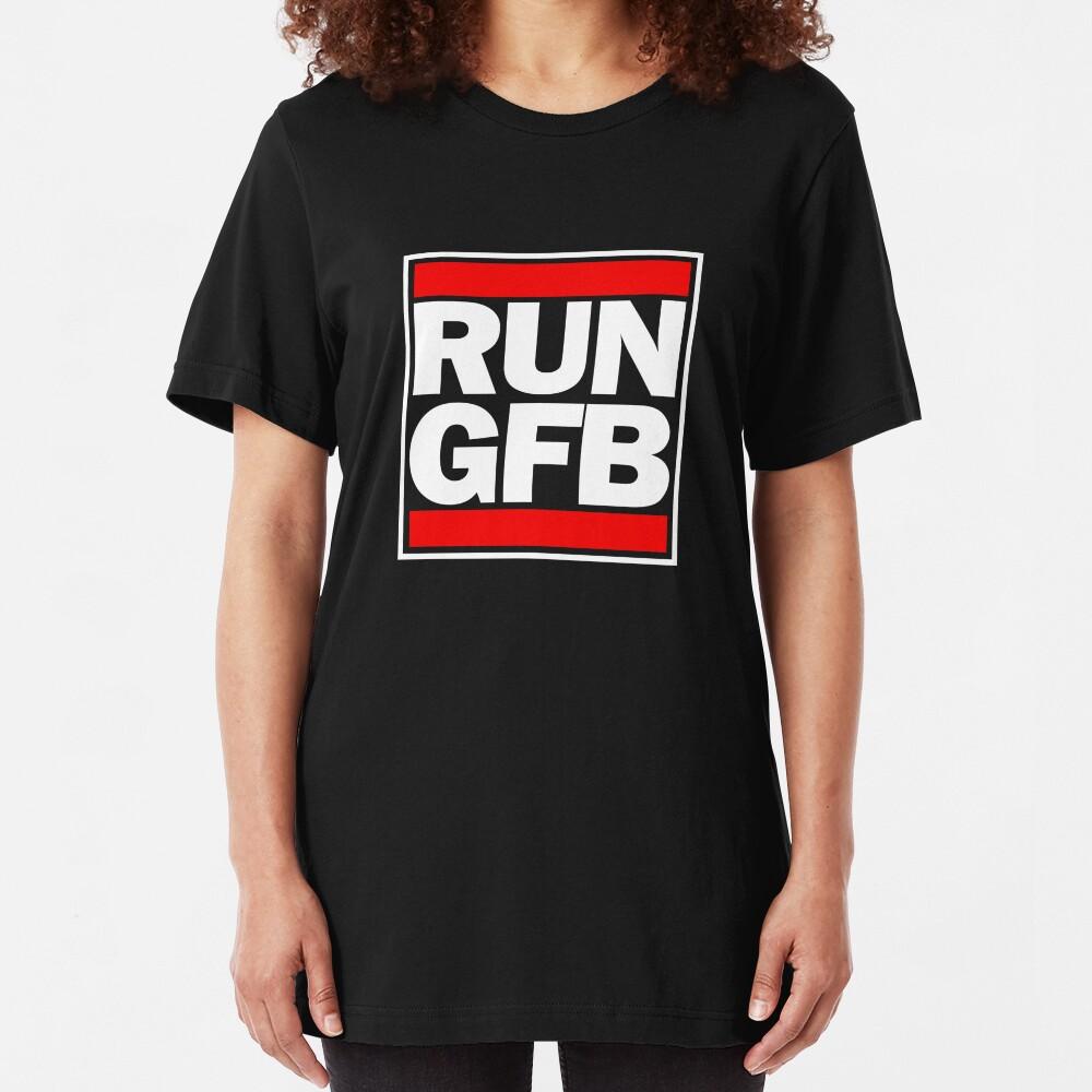 Run GFB - Get bopped Slim Fit T-Shirt