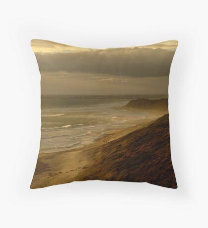 13th Beach Throw Pillow