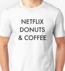 Netflix Donuts & Coffee T-Shirt