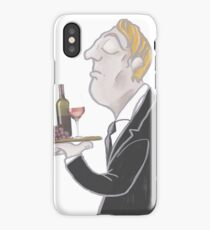 Jeeves and wine iPhone Case/Skin