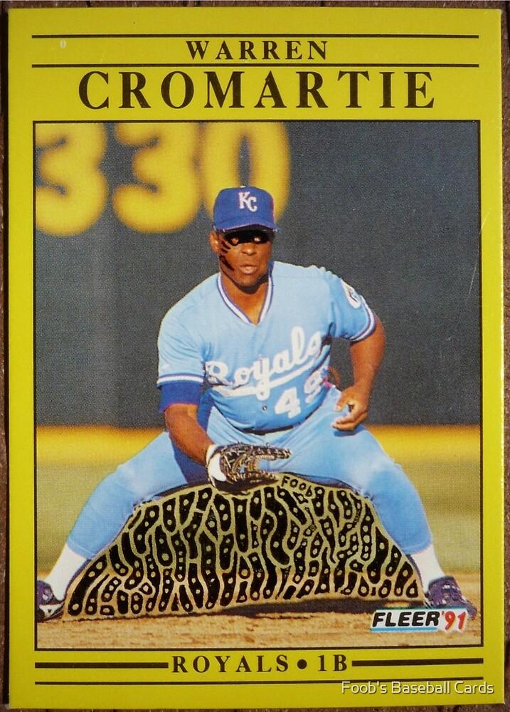046 - Warren Cromartie by Foob's Baseball Cards