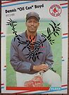 "048 - Dennis ""Oil Can"" Boyd by Foob's Baseball Cards"