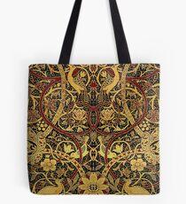 William Morris Bullerswood Vintage Floral Pattern  Tote Bag