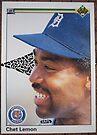051 - Chet Lemon by Foob's Baseball Cards