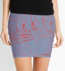 Red Liner Mini Skirt
