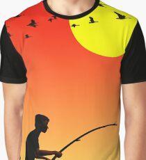 Childhood dreams, Fishing Graphic T-Shirt