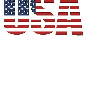 USA Patriotic American Flag US 4th of July America Fan by superdazzle