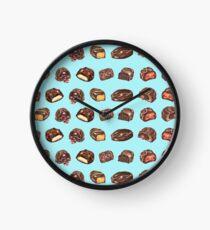 Watercolor Chocolate Truffles  Clock