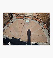 Il Campo, Siena Photographic Print