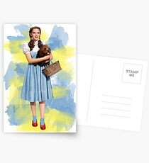Dorothy Gale watercolors Postcards