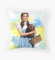 Dorothy Gale watercolors Throw Pillow