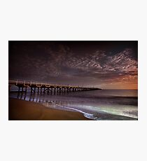 Hervey Bay Pier Photographic Print