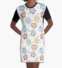 Sharkagotchi: 6 Species of Digital Pets! Graphic T-Shirt Dress