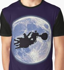 FT - Full Throttle (Ben on The Moon) Graphic T-Shirt