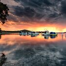 Swansea storm by Michael Howard