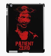 Patient Zero - Zombie Jesus - Red iPad Case/Skin