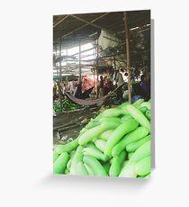 Cucumbers Greeting Card
