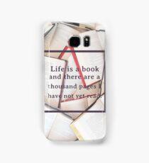 Clockwork Angel/Books Samsung Galaxy Case/Skin
