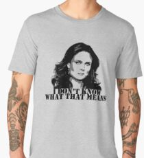 Bones - Temperance Brennan in black Men's Premium T-Shirt