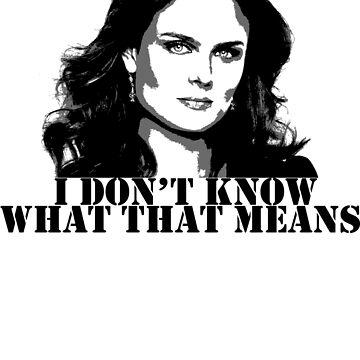 Bones - Temperance Brennan in black by LauraMSS