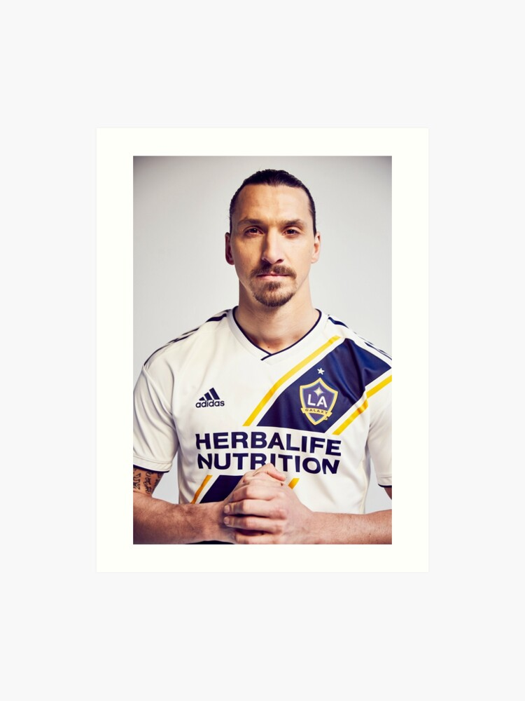 huge discount a257b 890e8 zlatan La Galaxy | Art Print
