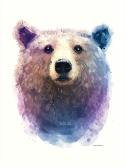 Brown Bear by Big Animal