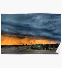 Approaching Shelf Cloud Poster
