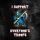 I support all your troops - Ghosts 'n Goblins by smurfted