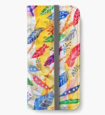 Leaves or Feathers? iPhone Wallet/Case/Skin