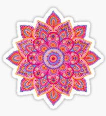 Hand Painted Mandala  Sticker