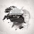 « Machine à écrire » par Chrystelle Hubert