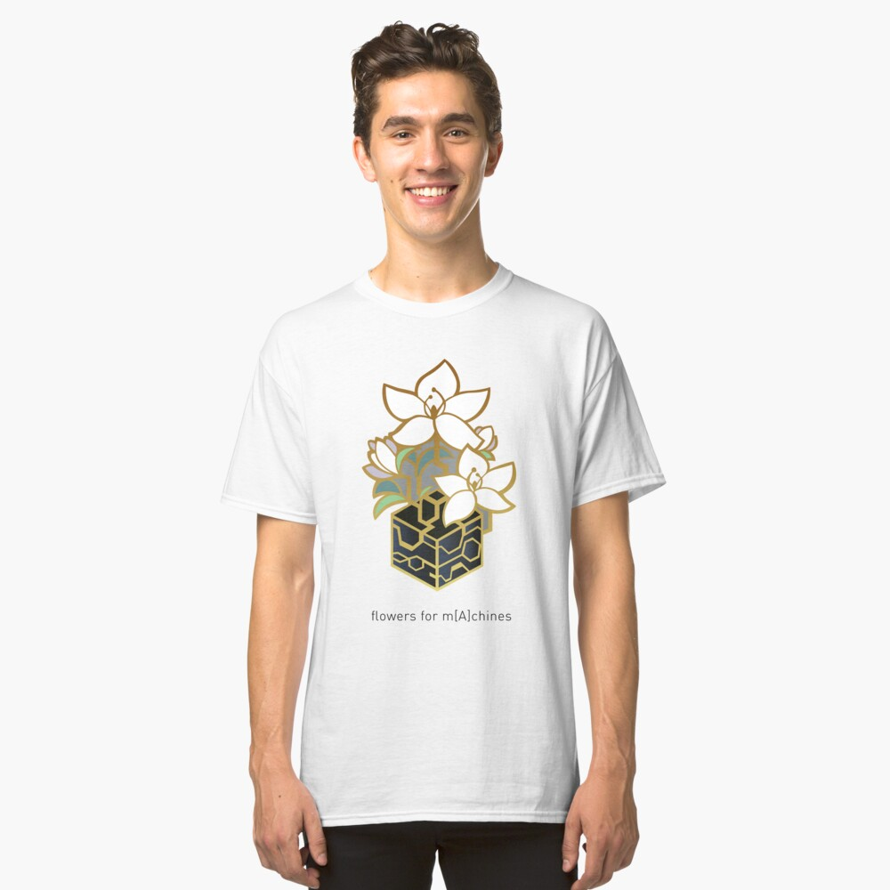 NieR: Automata - Blumen für m [A] chines Classic T-Shirt