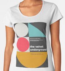 Der Velvet Underground Konzertdruck Premium Rundhals-Shirt