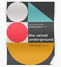 The Velvet Underground concert print Poster