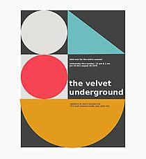 The Velvet Underground concert print Photographic Print
