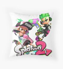 Splatoon 2 Throw Pillow