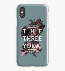 Three Demons and a Detective iPhone X Case
