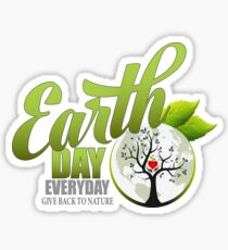 Give Back to Nature - Earth Day Everyday Sticker