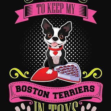 Boston Terrier Lover T-Shirt by Julie7526