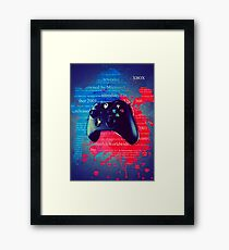 Xbox - Gaming Weapon Framed Print
