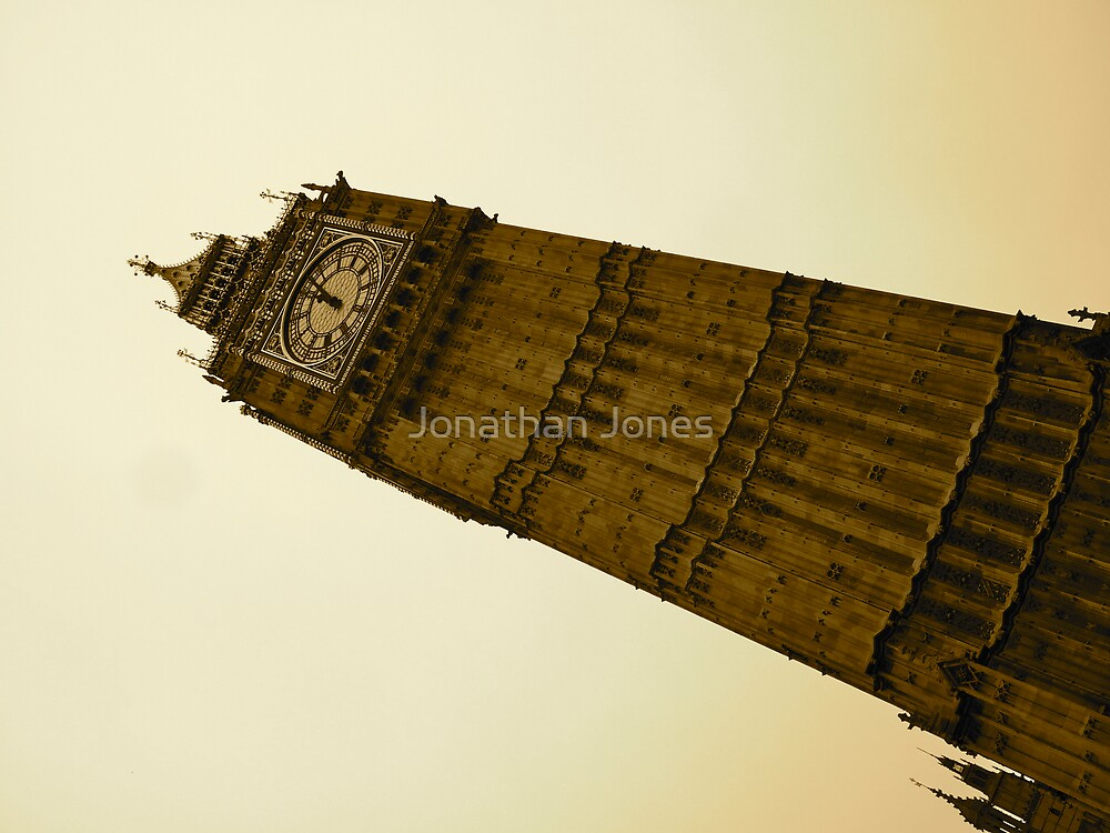 Big Ben by Jonathan Jones