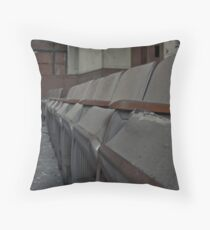 Crowded hearts for an empty showing Throw Pillow