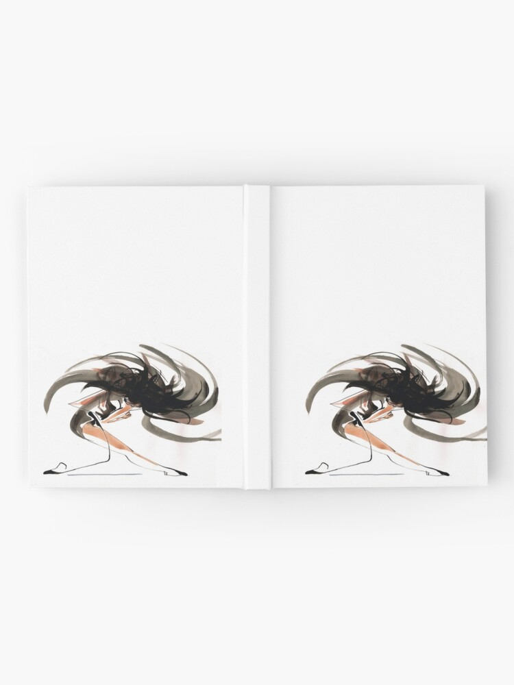 Alternate view of Expressive Ballerina Dance Drawing Hardcover Journal