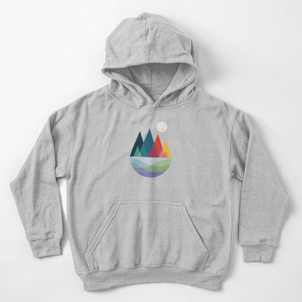 Somewhere Kids Pullover Hoodie