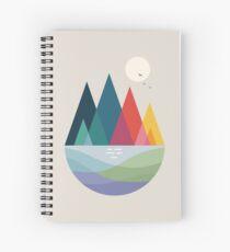 Somewhere Spiral Notebook