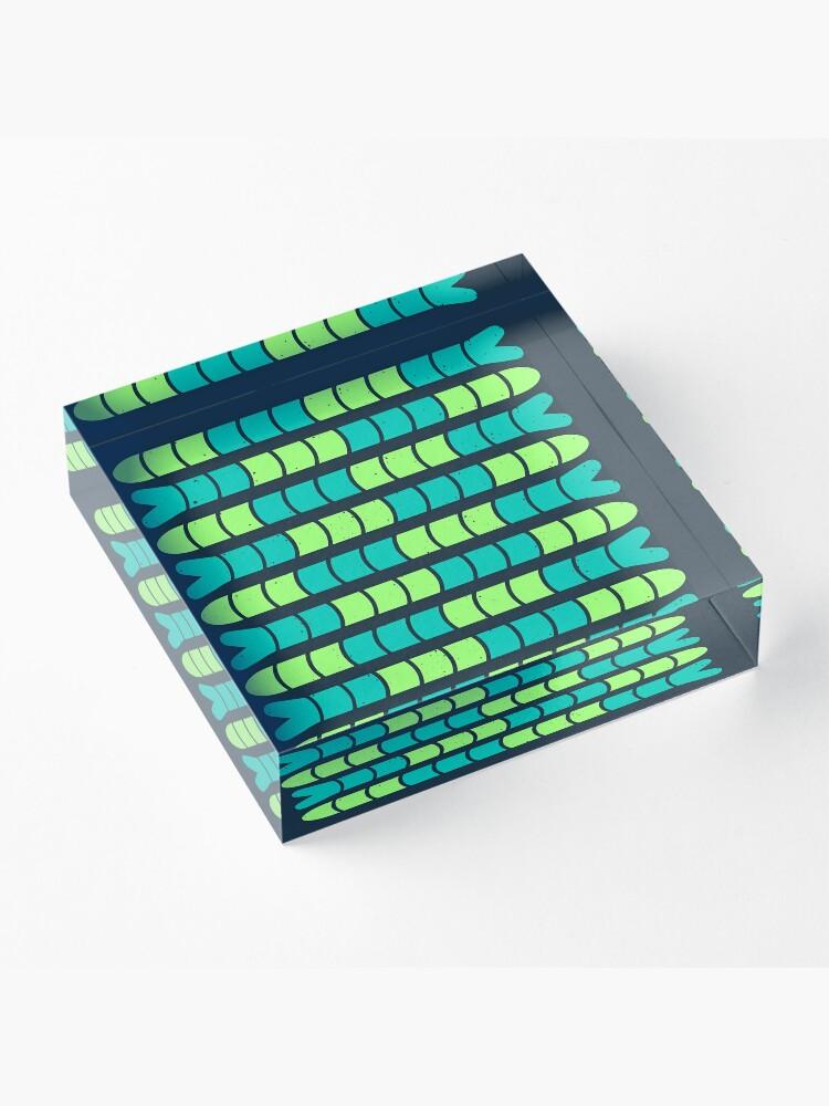Alternate view of F/SH/NG Acrylic Block