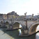 ROME - VITTORIO EMANUELE II Bridge by Daniela Cifarelli